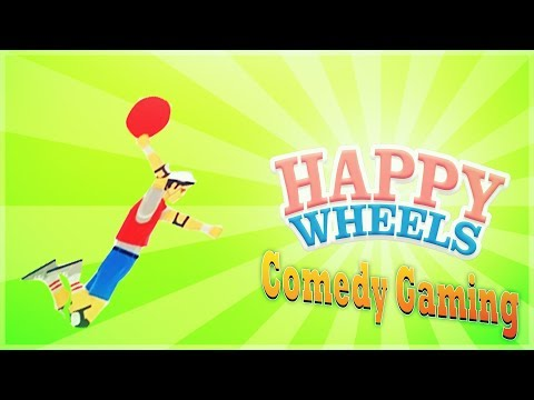 Happy Wheels - First Try - KOBE - Comedy Gaming