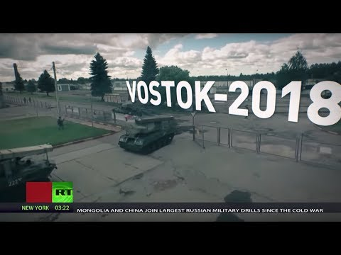 Vostok 2018: Russia to conduct 'largest-ever war games'