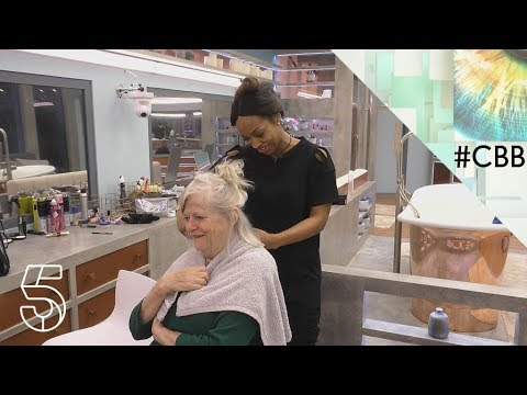 Malika gives Ann a haircut | Day 8 | Celebrity Big Brother 2018