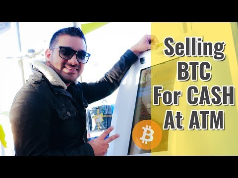 Selling Bitcoin At ATM For CASH - WOW !!! 🔥🔥🔥
