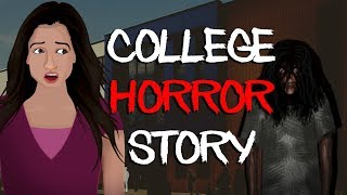 College Horror Stories Animated || Room Number 223 Scary Stories in Hindi