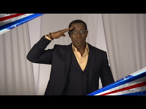 Wesley Snipes Honors America's Armed Forces