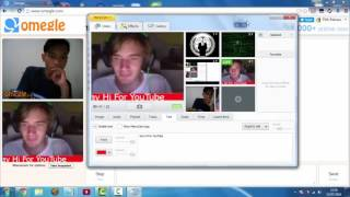 How to PRANK Strangers on Omegle with ManyCam (How to use simulated cam ManyCam)