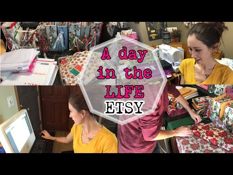 Day In The Life / Successful Etsy Sale Day