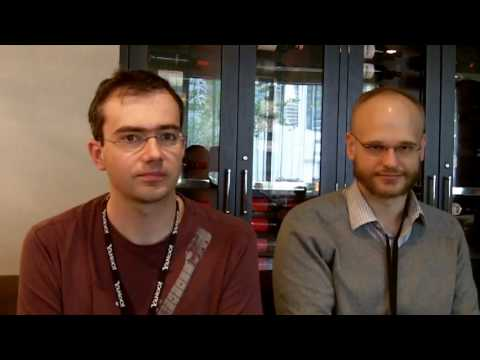 JSConf 2010 - Interview w/ Jeffrey Van Gogh & Matthew Podwysocki