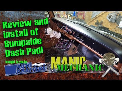 F100 Bumpside Dash Pad Removal And Installation Episode 30 Manic Mechanic 1