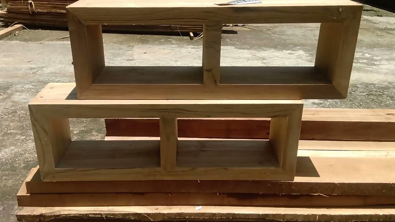 Loster Lubang Angin Minimalis Kayu Jati Solid Youtube Loster kayu minimalis