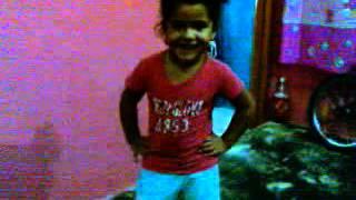 niña baila la maraquita 2013