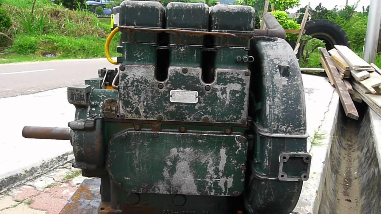 Lister Sl3 Diesel Engine Youtube
