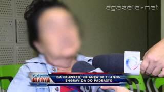 Em Cruzeiro criança de 11 anos engravida do padrasto 11 07 2…