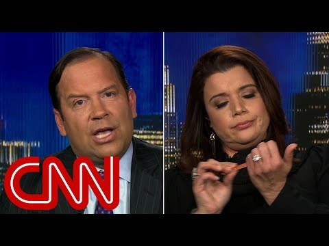 Bill Cunningham - VIDEO: Ana Navarro Files Her Nails During Border Wall Debate