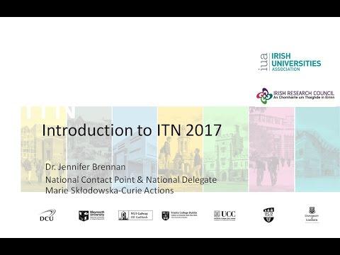 Innovative Training Networks Call 2017 Webinar