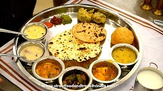 Gujarati Thali | Indian Food Taste Test Episode-2 with Nikunj Vasoya