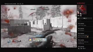 Jugando a Modern Warfare