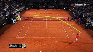 Novak Djokovic - 50 Return Winners in 2019 (HD)