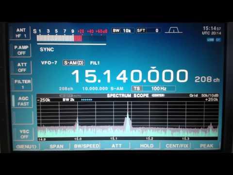Radio Havana Cuba DXers Unlimited Feb 26 2017 on 15140Khz Shortwave Radio
