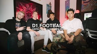 A NIGHT WITH D1 COLLEGE FOOTBALL QUARTERBACKS (feat. Justin Fields & Matthew Downing) - EPISODE 153