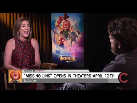 Denise Plante - Missing Link Hits The Box Office April 12th