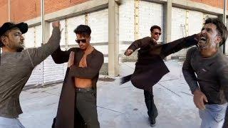 Hrithik Roshan and Tiger Shroff ASTONlSHlNG Matrix Style Action for Baaghi 3  Amazing Rehearsal
