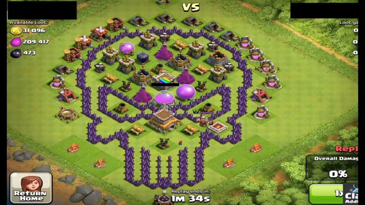 clash of clans top 10 nice strong base in 2016 youtube. Black Bedroom Furniture Sets. Home Design Ideas