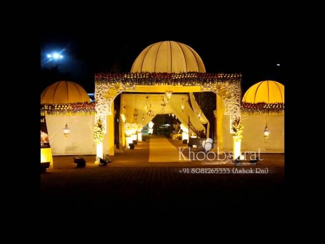 khoobsurat wedding theme decoration +91 8081265333