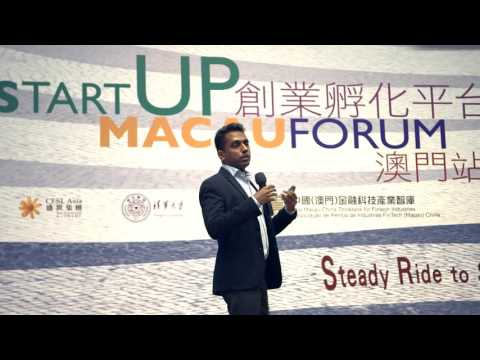 Start-ups compete at the first-ever StartUP Macau competition