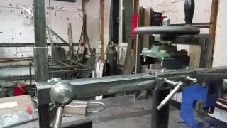 Вертикальный радиальный сверлильный станок своими руками Ч.1