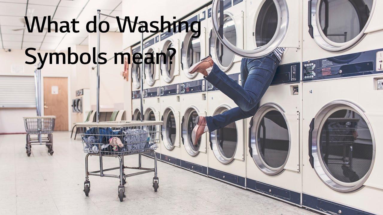 What Do Washing Laundry Symbols Mean Youtube
