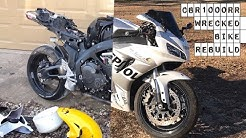 CBR1000rr Wrecked Bike Rebuild