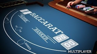 Multiplayer Baccarat 3D Dealer mobile and PC - CasinoWebScripts