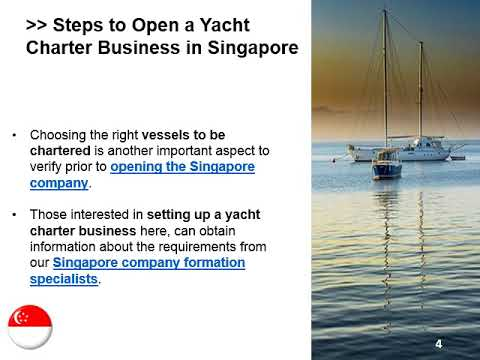 Open a Yacht Charter Company in Singapore