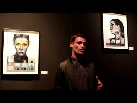 Opening LONDON PORTRAITS with Nick Gentry, Andrew Salgado, George Morton-Clark at Galerie flash