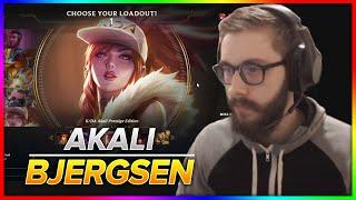 770. Bjergsen Akali vs Diana Mid - Season 9 Patch 9.5 - March 18th, 2019