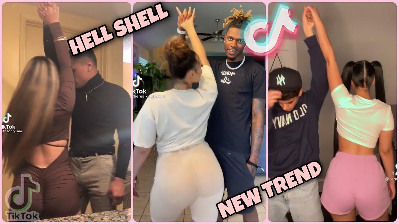 Yeah, A Shell, Yeah, Whole Lot Of Shells Challenge Dance Compilation #hellshellchallenge