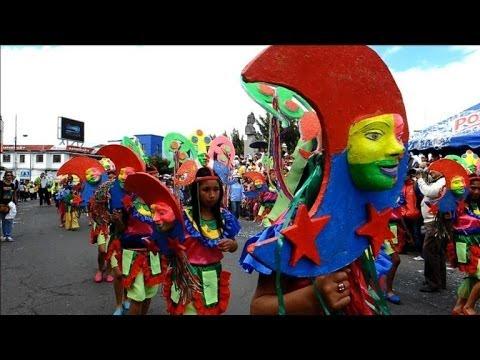 Colombie: le Carnaval des Noirs et des Blancs bat son plein à Pasto