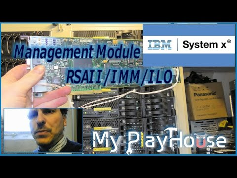 Server Management Module RSAII/IMM/ILO review - 331