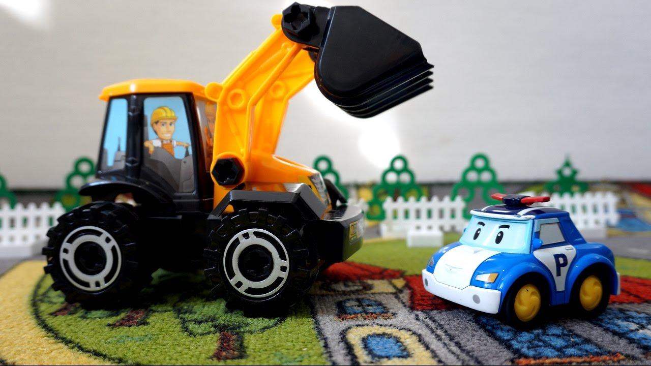 Спецтехника для детей смотреть оборудования для строительной компании