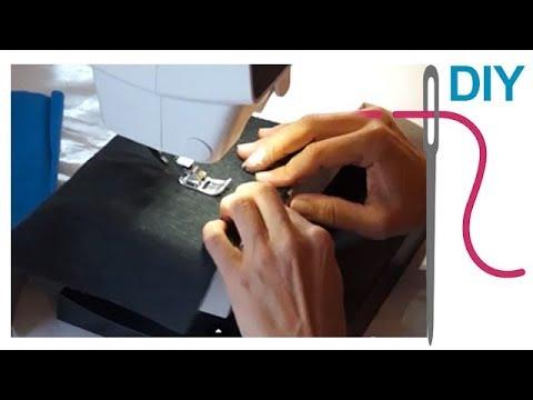 kappnaht n hen f r anf nger diy n hen lernen mit zierstoff youtube. Black Bedroom Furniture Sets. Home Design Ideas