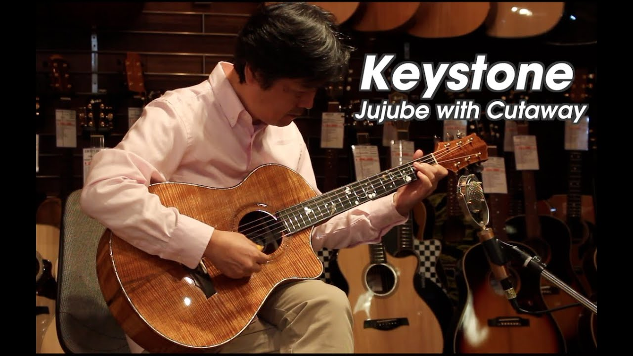 Keystone Jujube with Cutaway 10th Anniversary Model Demo - Player 古川忠義 Tadayoshi Furukawa
