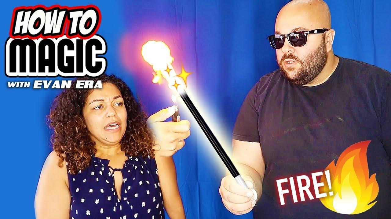 68f998f067d 7 FIRE Magic Tricks with Flash Paper! 🔥 - YouTube