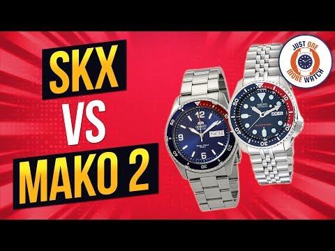 Watch Boxing! Ten Rounds! Seiko SKX Vs Orient Mako