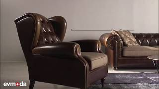 Evmoda - Freeman Chester Koltuk Takımı Video