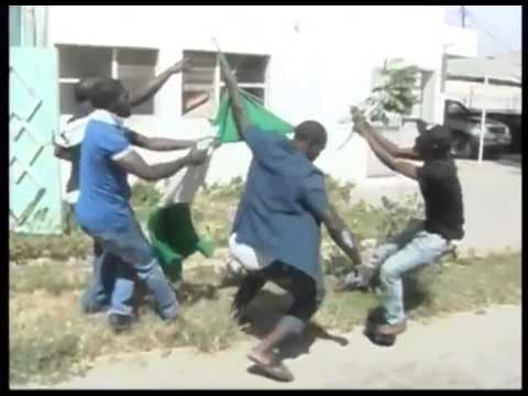 Nigerians destroyed their Embassy in Senegal