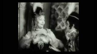 """La grande Cécile Sorel dans """"Les Perles de la Couronne"""" de Sacha Guitry"""