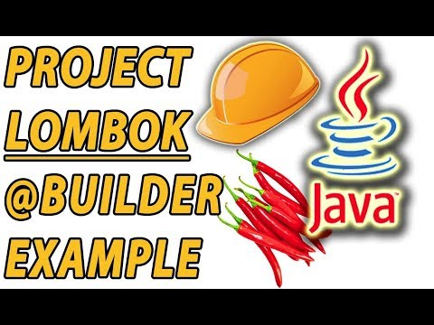 Project Lombok Java 8 Builder Example (Part 8)