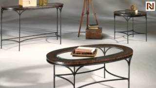 Santos Round End Table T1017535-00 By Hammary Furniture