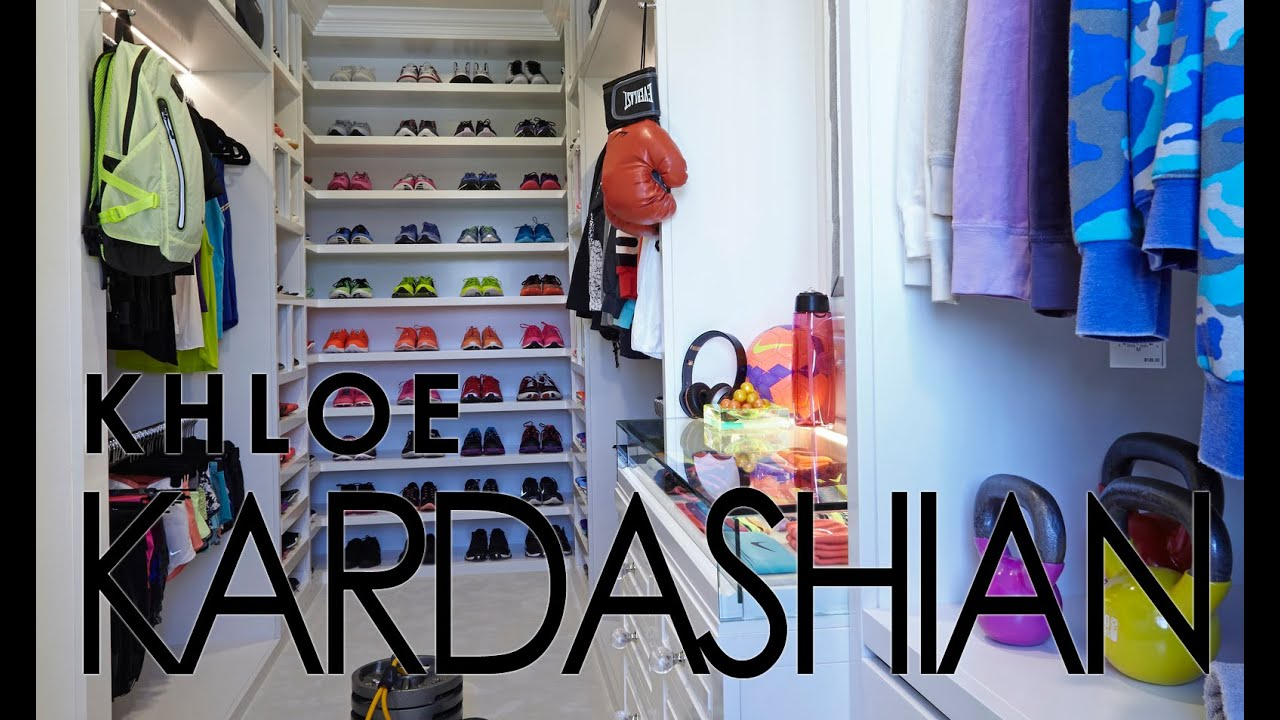 Celebrity Closets With Lisa Adams Khloe Kardashian Workout Closet Slideshow