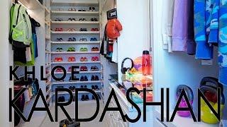 Celebrity Closets with Lisa Adams / Khloe Kardashian Workout Closet Slideshow