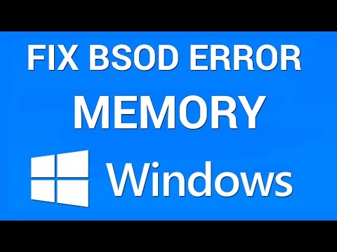 How to Fix Blue Screen Memory Management Error