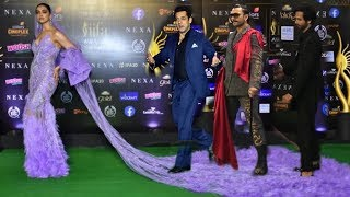 Salman Khan, Ranveer Singh and Others Joke on Deepika Padukone Long Dress | Funny Moments on Iifa